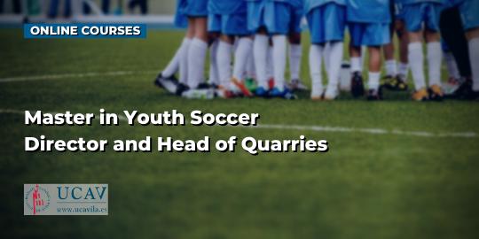 Course CoverMaster in Grassroots Soccer Director and Head of Quarries (Universidad Católica de Ávila)
