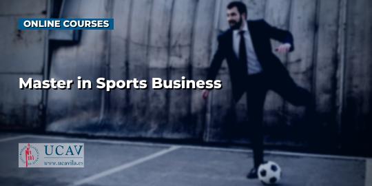 Обложка курсаМастер в спортивном бизнесе (UCAV)