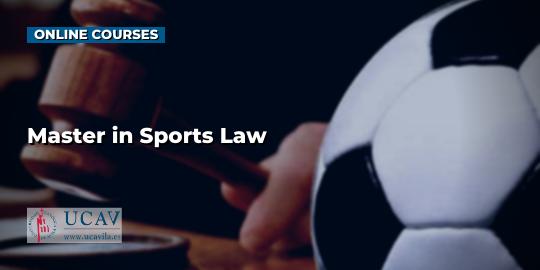 Обложка курсаМагистр спортивного права (UCAV)