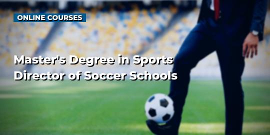 Обложка курсаМастер спорта директор футбольных школ