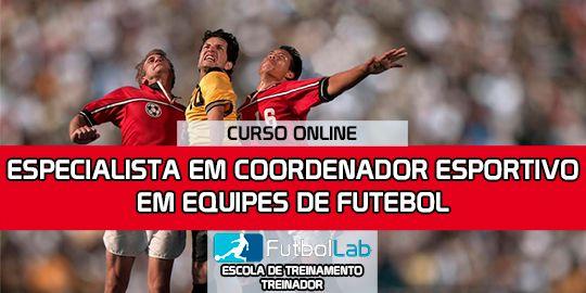 Capa do CursoEspecialista em esportes coordenados de futebol