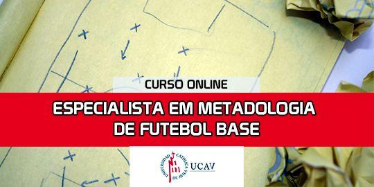 Capa do CursoEspecialista em Metodologia Base de Futebol (Universidade Católica de Ávila)