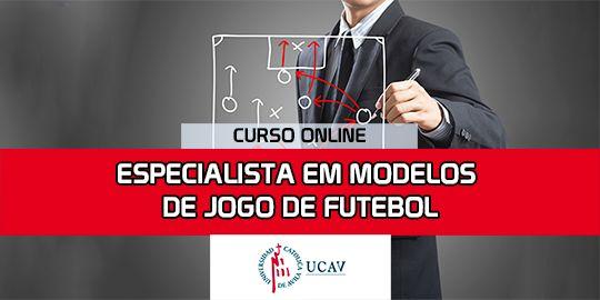 Capa do CursoEspecialista em Modelos de Jogos de Futebol (Universidade Católica de Ávila)