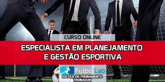 Capa do CursoEspecialista em Planejamento e Gerenciamento de Esportes