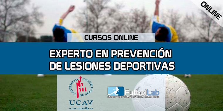 Capa do CursoEspecialista em Prevenção de Lesões Esportivas (UCAV)
