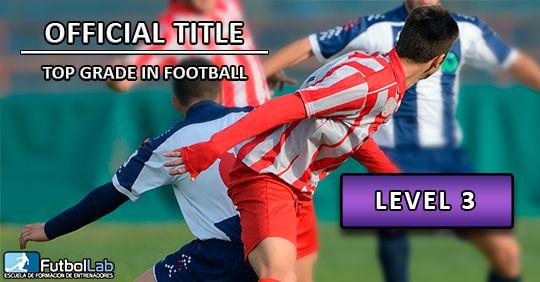 Capa do CursoGrau oficial de nível superior em futebol