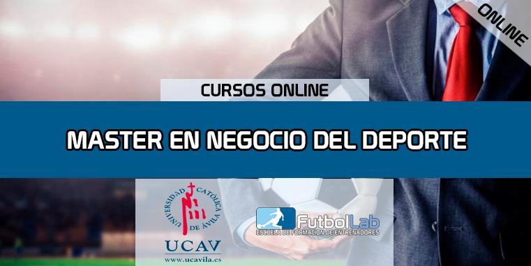 Capa do CursoMestre Em Negócios Esportivos (UCAV)