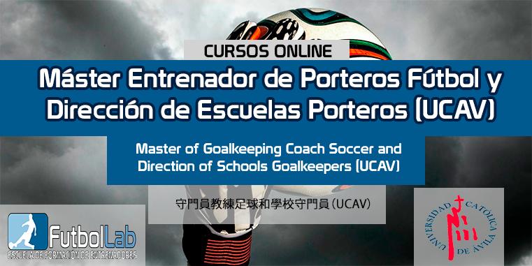 Capa do CursoTreinador Mestre de Goleiros de Futebol e Gestão Escolar de Goleiros (UCAV)