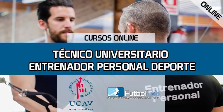 Capa do CursoPersonal Trainer especialista em esportes (Universidad Católica de Ávila)